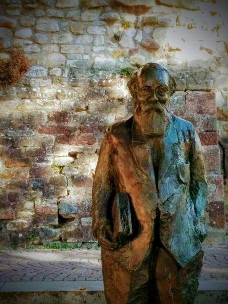 Statue von Martin Buber