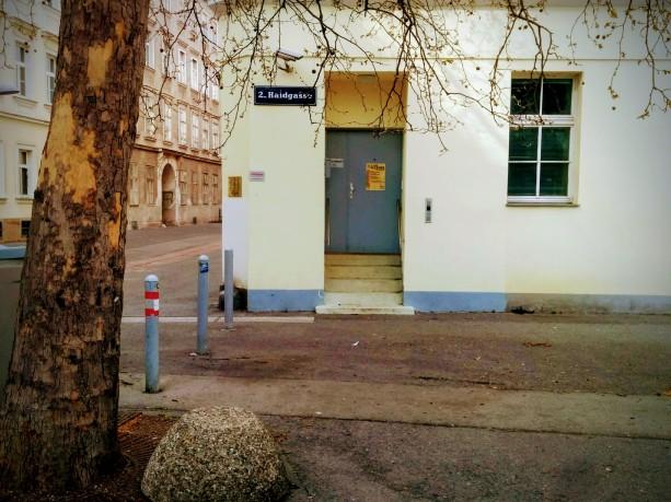 Hauseingang Ecke Haidgasse